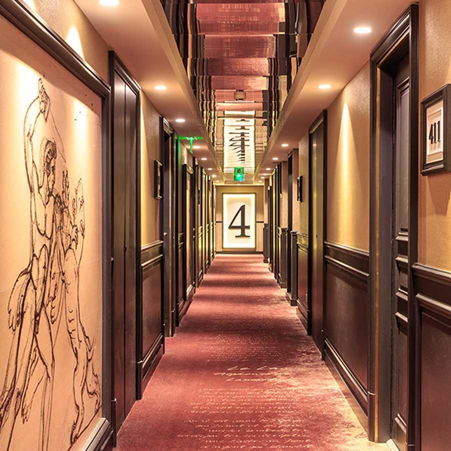Chambres Grand Hotel La Cloche