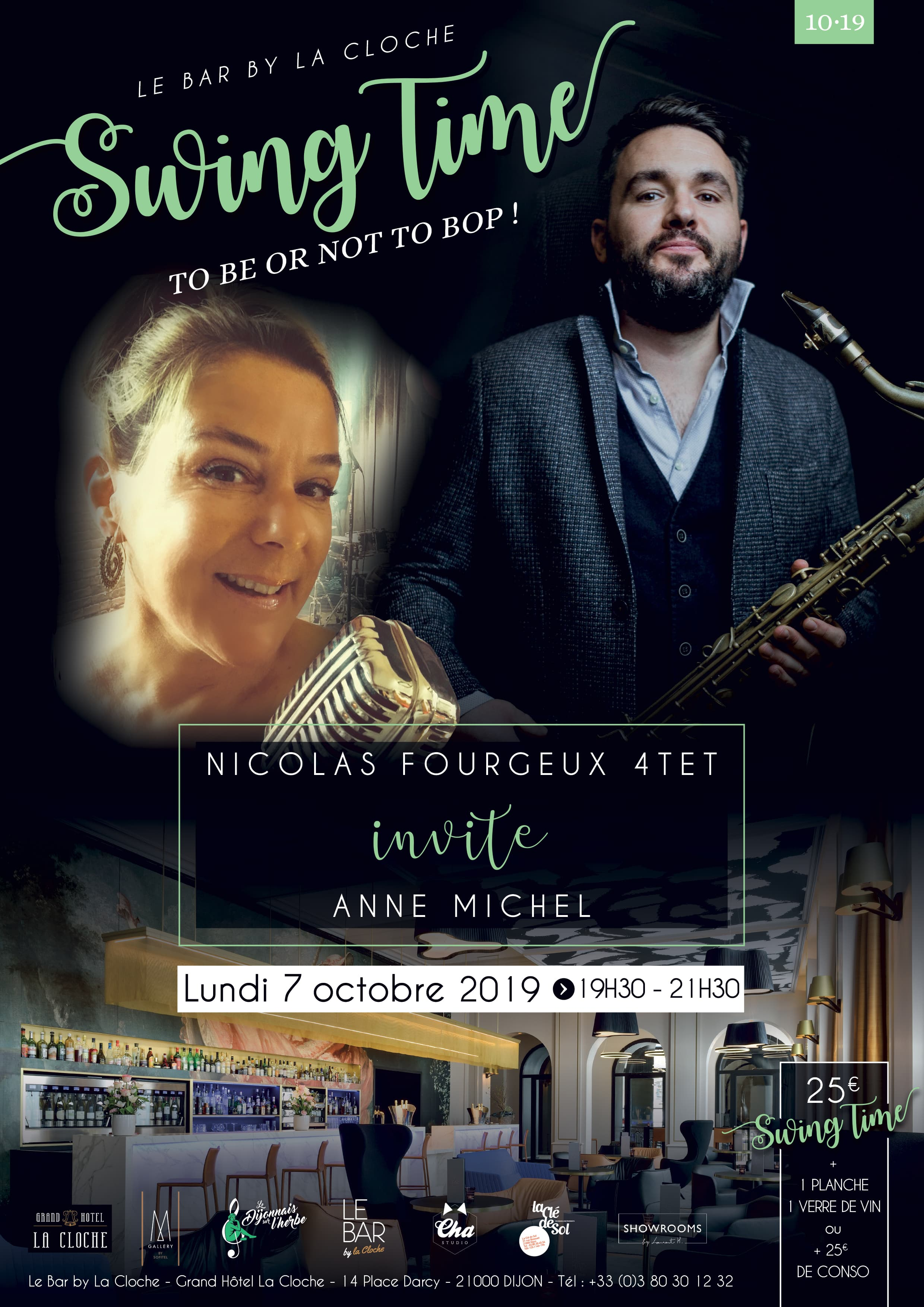 Swing Time Octobre 2019