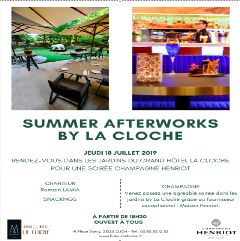 Summer afterworks by La Cloche